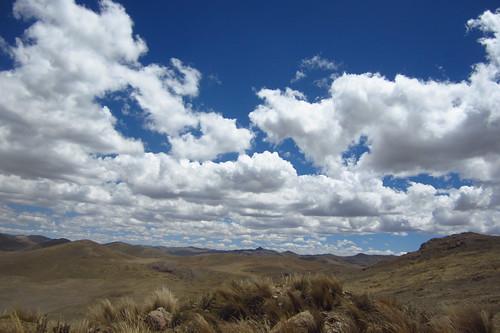 Views En Route to Tarma, Junín, Peru   by blueskylimit
