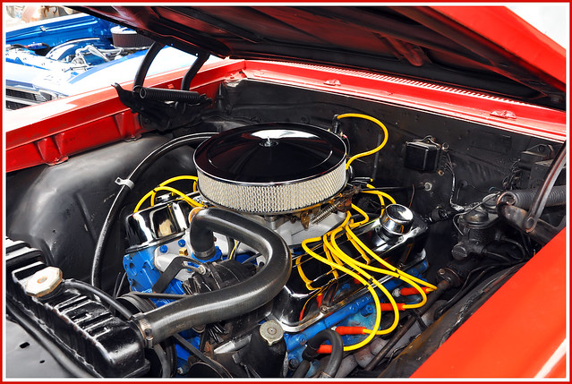 1967 Pontiac GTO V8 Engine