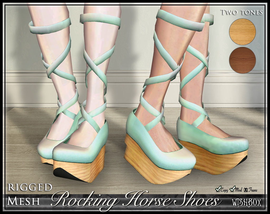 Rocking Horse Shoes (Mint)