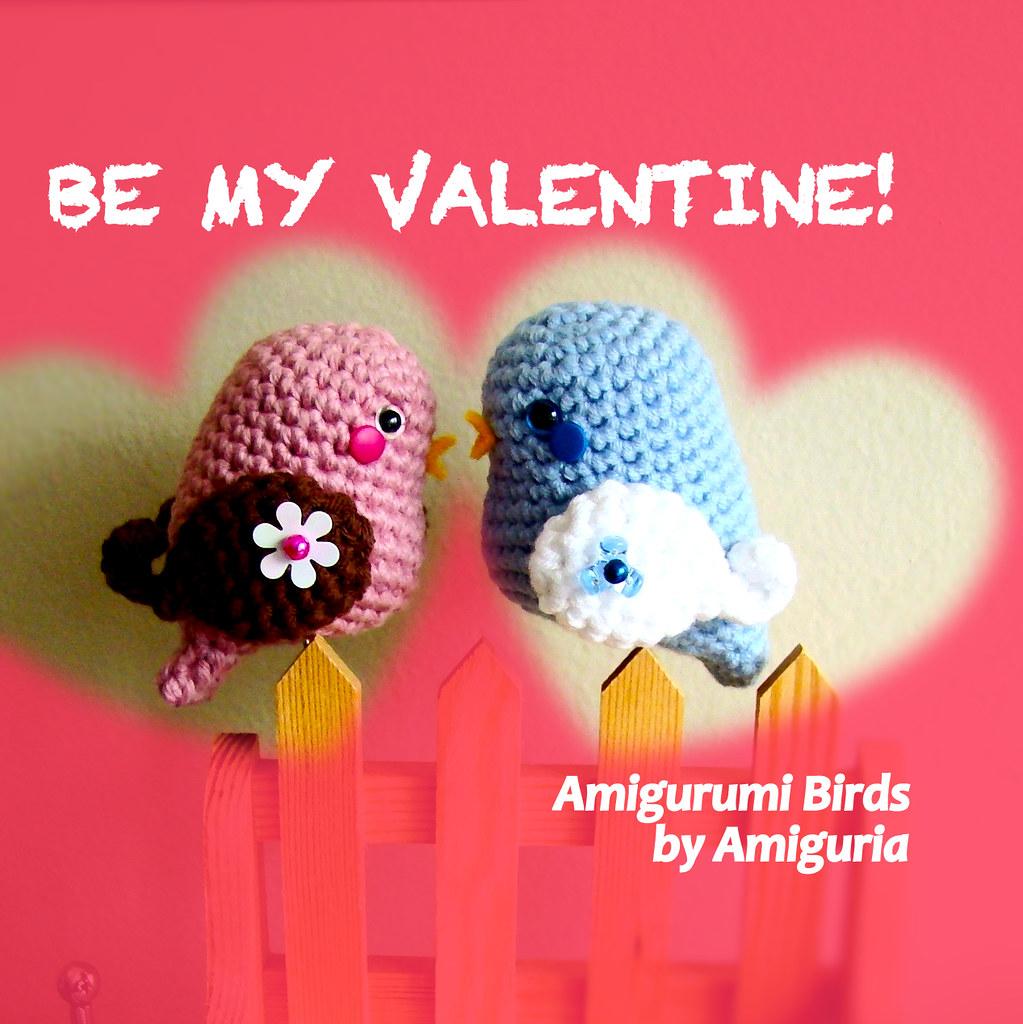 6 Crochet Bird Amigurumi Patterns Designed By Tanya Zhylyayeva ...   1024x1023