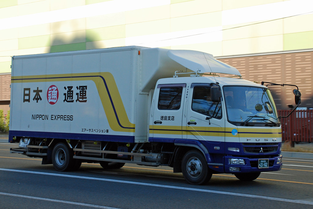 Nippon Express - Fuso truck in Kyoto, Japan. - So Cal Metro - FlickrNippon Express - 웹