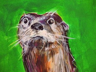Otter Face | by Todd Berman
