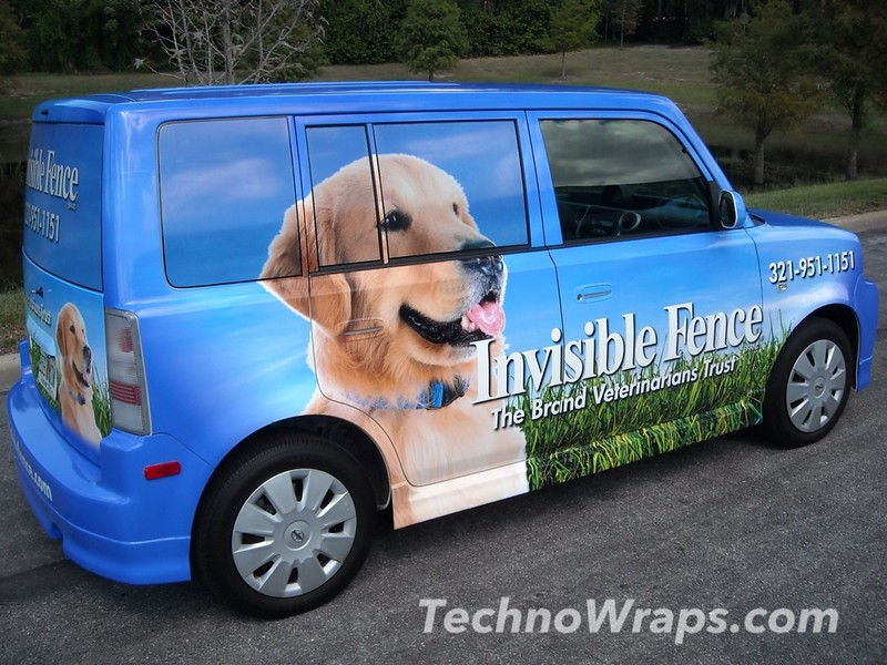 Scion car wrap by TechnoSigns