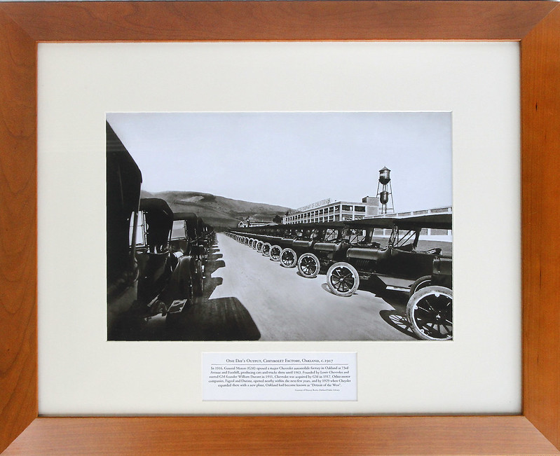 Chevrolet Manufacturing Plan, foothill Blvd Oakland c1916