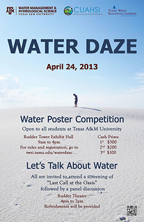 Water Daze poster | by Texas Water Resources Institute