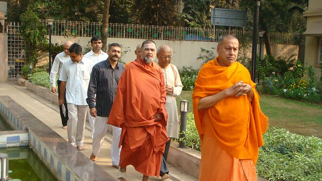 Swami in RamakrishnaAshram 2013