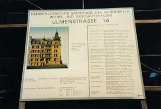 Ulmenstraße16, Eckhaus Ulmenstraße / Eulitzstraße auf dem Kaßberg in Chemnitz