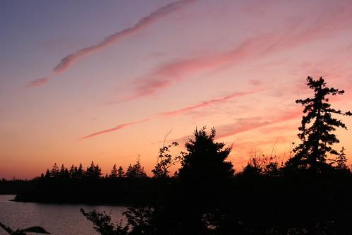 park sunset lake canada nova scotia provincial porters