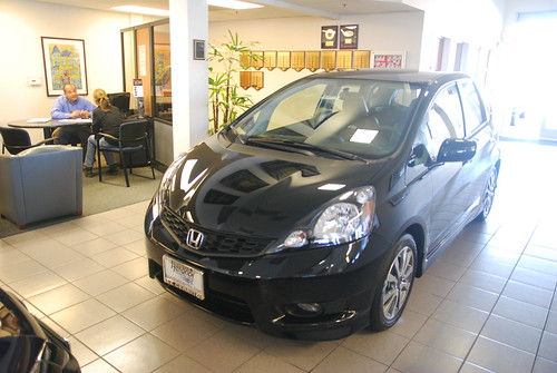 Black 2013 Honda Fit ECH 10-13-12 2 Photo