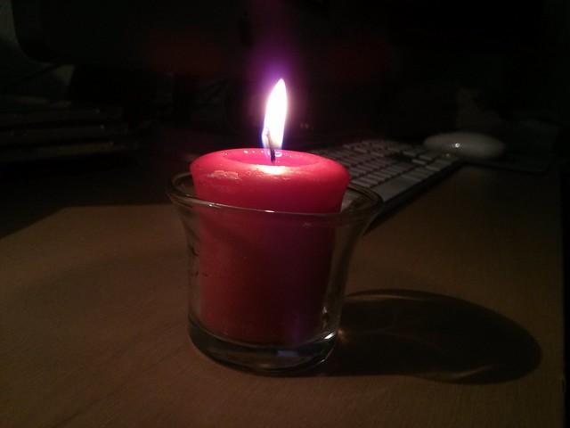 burning candles [84/365]