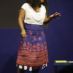 Atinuke   The African storyteller brings to life tales of Anna Hibiscus © Robin Mair