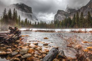 Cold and Foggy Yosemite | by albert_debruijn