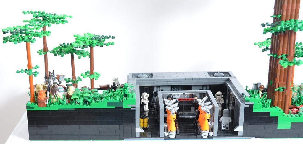 Lego Star Wars Endor Bunker Moc Lego Endor Bunker Moc Flickr