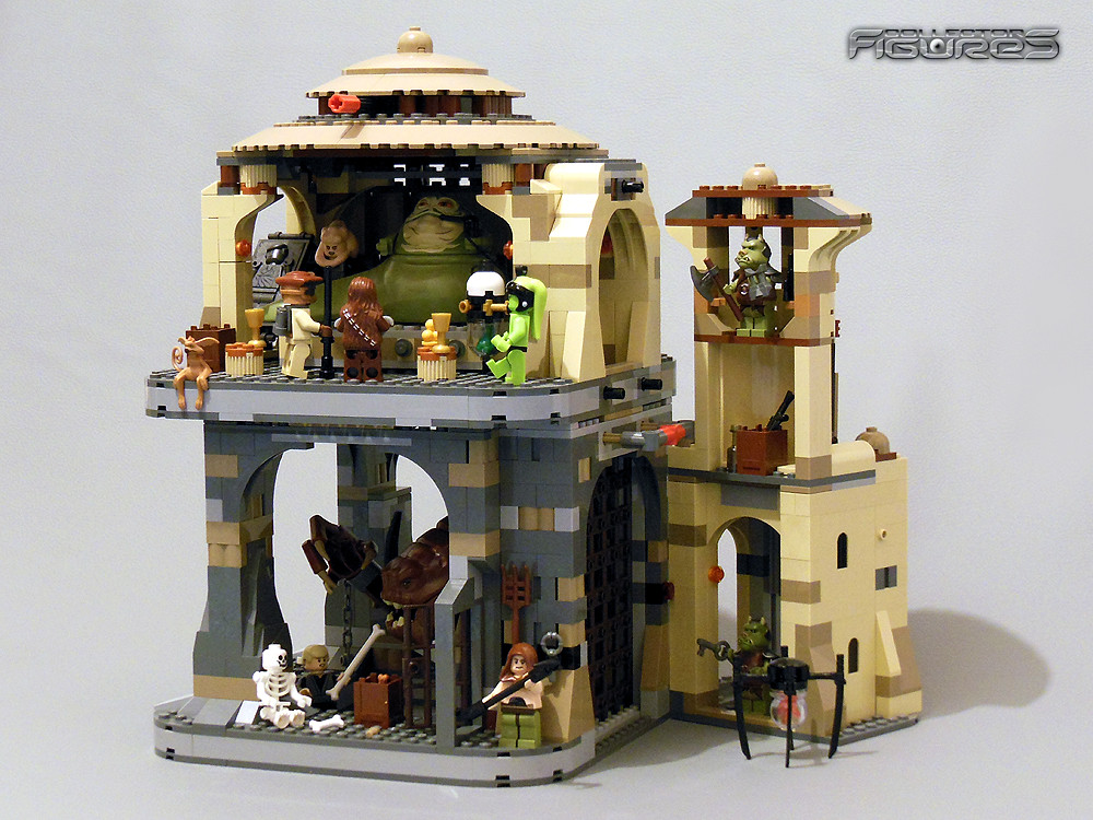 Lego Star Wars Jabba Palace Rancor Pit 05 Jaz Collector Figures