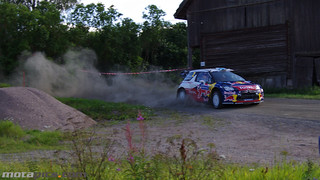 WRC Rally Finland 2012 - #2 Mikko Hirvonen / Jarmo Lehtinen - SS1 Koukunmaa - Citroen DS3 WRC