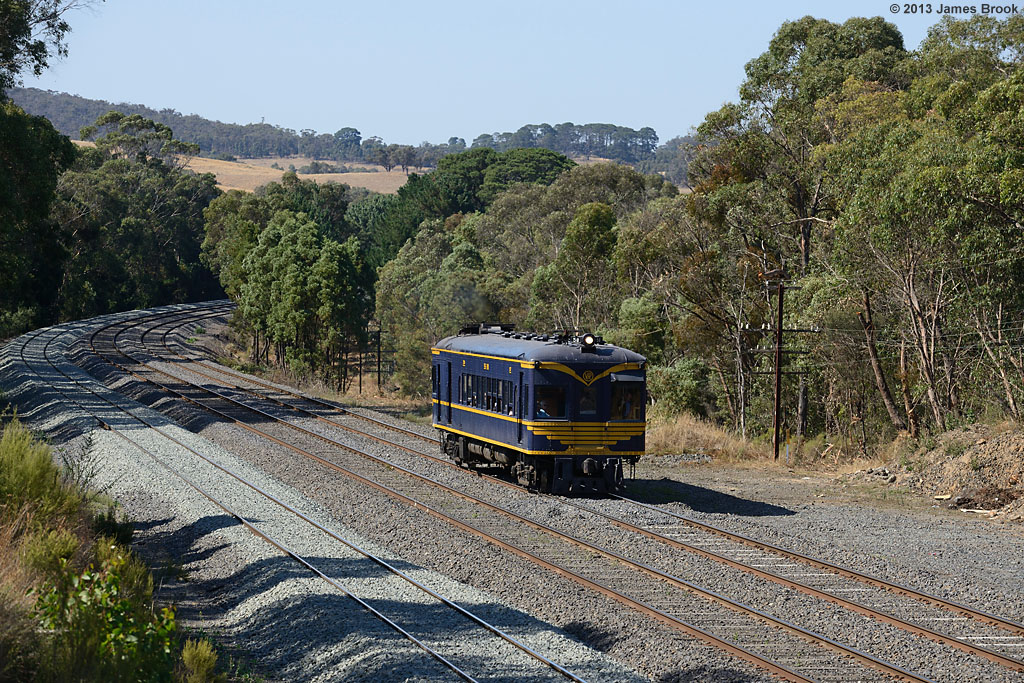 58RM at Heathcote Junction with 8395 by James Brook