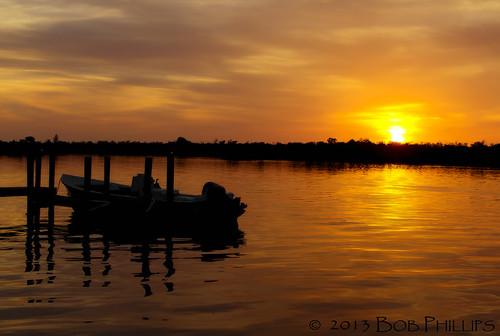 sunset gulfofmexico clouds florida backbay pineisland bokeelia