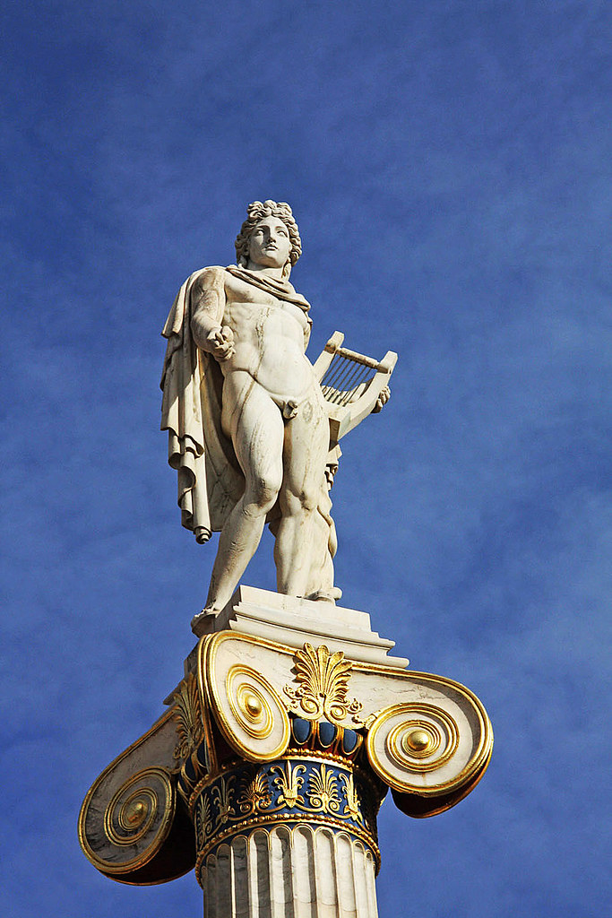 the Greek God Apollo ~ (explored # 115) | In front of the ...