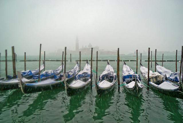 Snowy Venice