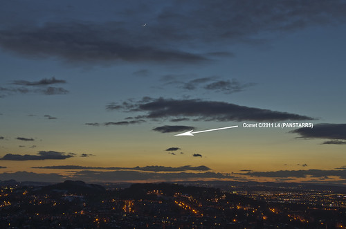 Comet Panstarrs March 2013 | by Grant_R