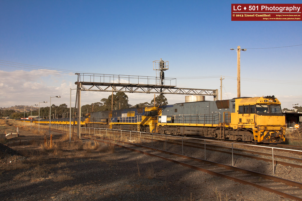 Steel Train passing SRHC by LC501