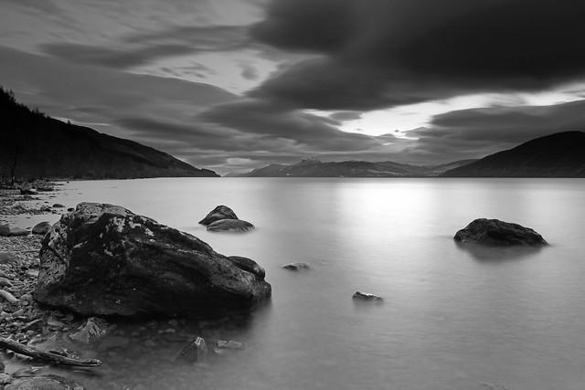 Loch Ness in Mono.