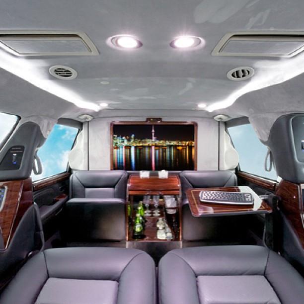 Armored Cadillac Escalade ESV with our CEO luxury interior