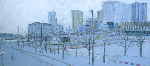 Panorama- Salford Quays with BBC Buildings | by larosecarmine