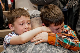 Saying goodbye | by The National Guard