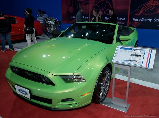 2013 Washington Auto Show - Upper Concourse - Ford 8