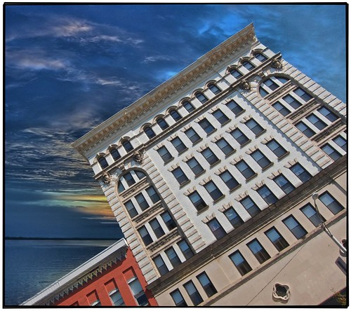 plaza old sunset sky ny newyork building hotel store closed apartment state district historical department watertown reuse adaptive jeffersoncounty nrhp perservation empsalls onasill rothstockbuilding