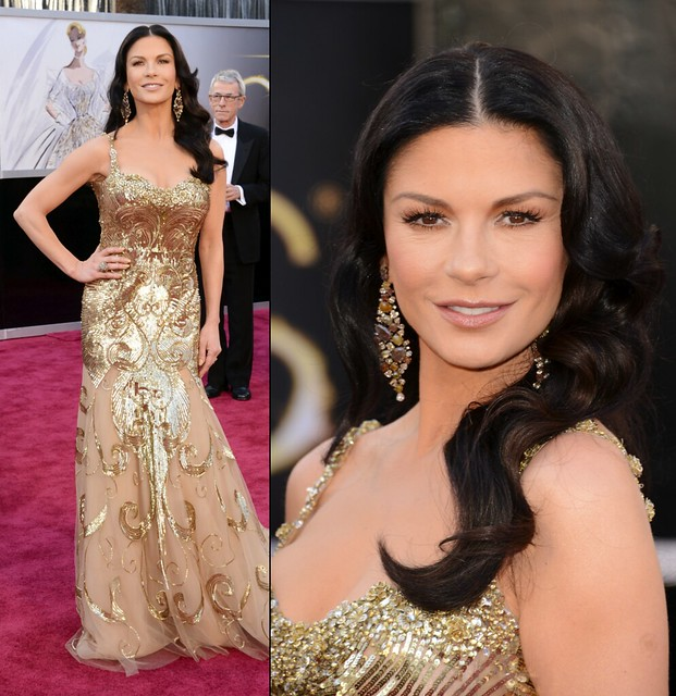 Catherine Zeta Jones 凱薩琳麗塔瓊絲 in Zuhair Murad