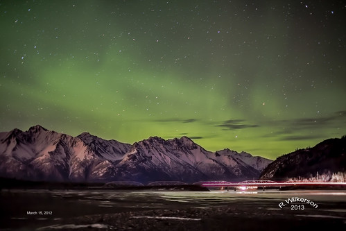 alaska aurora northernlights knik solarstorm