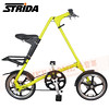 186-203 STRIDA 16吋LT版折疊單車(碟剎)消光芥末黃色2013年版1