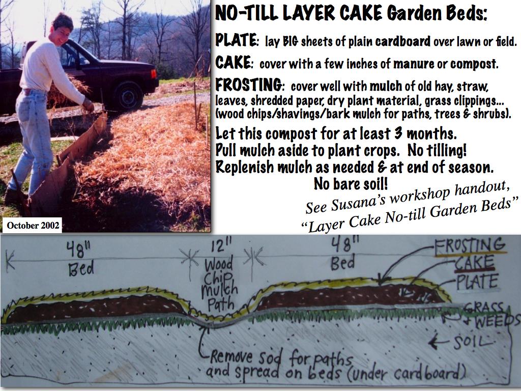 ... No-till LAYER CAKE raised beds   by Salamander Springs Farm: Susana's Perma-