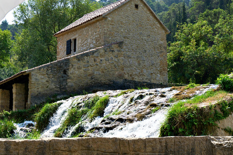 Krka Croatia Mill