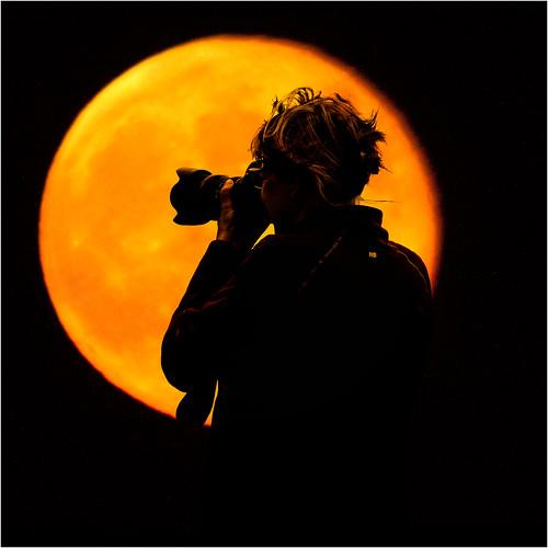 Gobi Moon by josef...