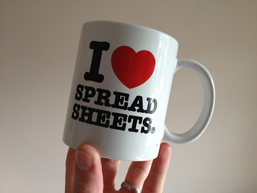I Love Spreadsheets | by CraigMoulding