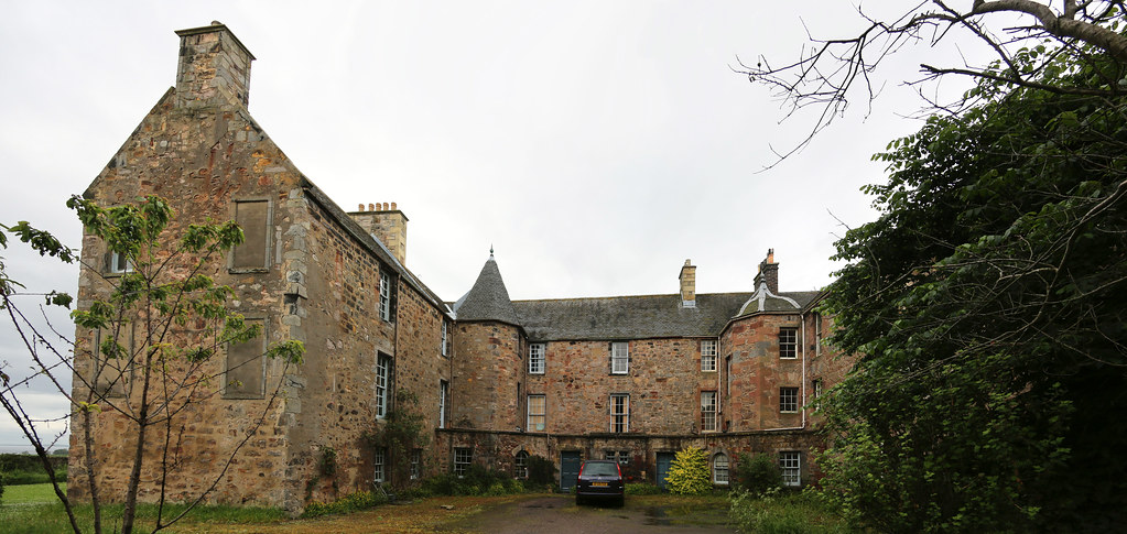 Brunstane House (4) | So here we are, with the oldest part o