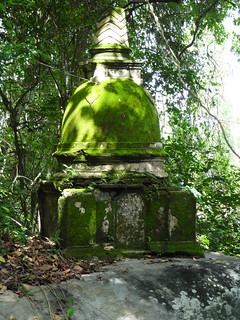 Moss-covered stupa | by Dave Lonsdale