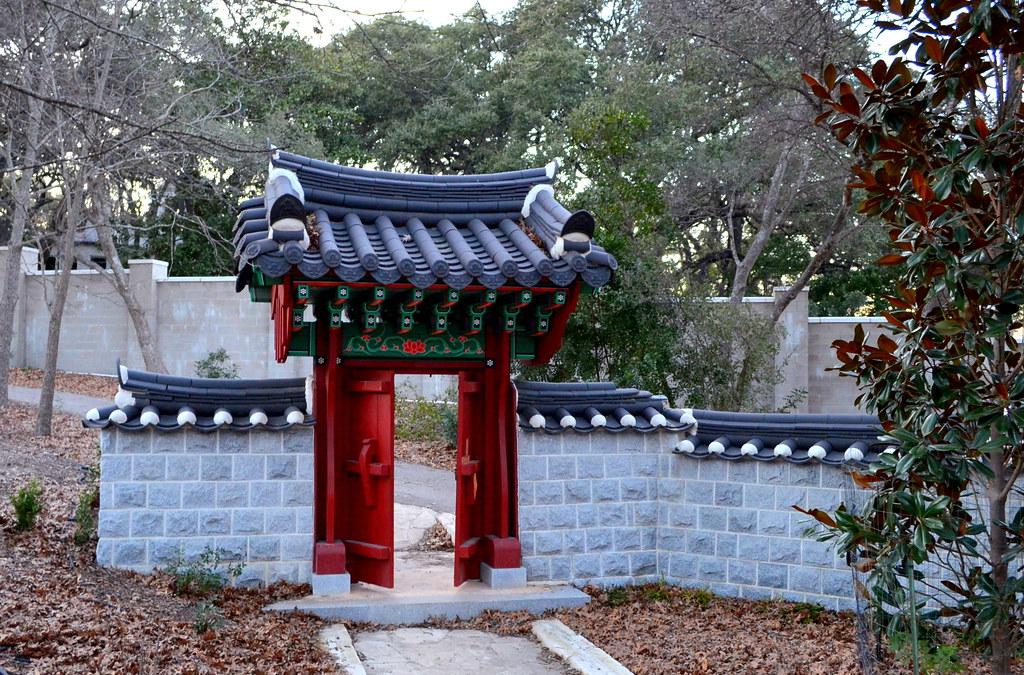 San Antonio - Denman Estate Park   the park contains a ...