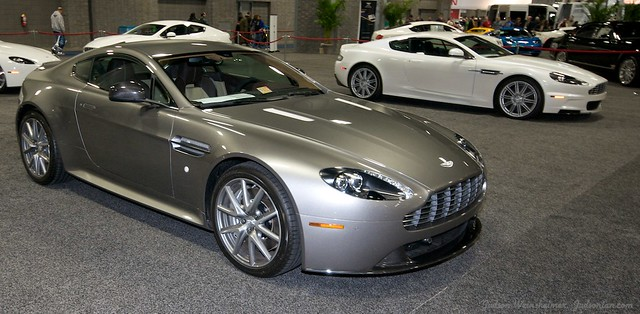 2013 Washington Auto Show - Lower Concourse - Aston Martin 3