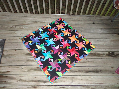 star struck baby quilt | by Scientific Quilter