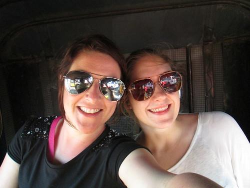 Myself & Clara in our tuk tuk