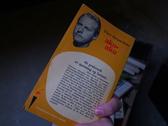 aku-aku - Thor Heyerdahl, back cover