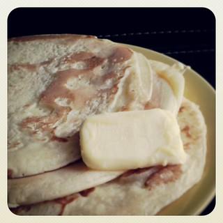 Pancake for #breakfast