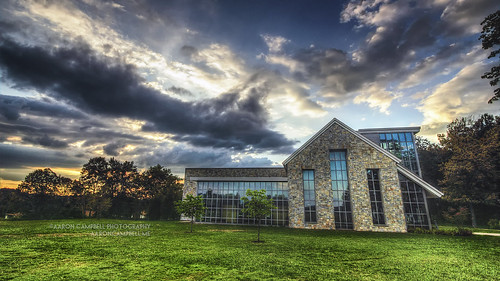 summer sky building architecture clouds rural canon reflections campus eos rebel evening pennsylvania country july textures lehman thursday grounds hdr highdynamicrange 29th 2012 nepa 3xp luzernecounty backmountain photomatixpro tonemapping efs1022mmf3545usm 550d t2i psuwb pennstatewilkesbarre kissx4 aaronglenncampbell aaroncampbellme
