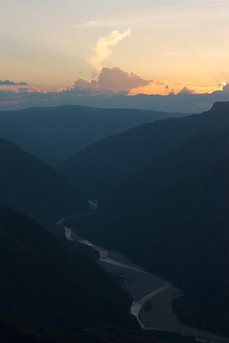 chicamocha canyon atardecer sunset cañóndelchicamochacanyon santander colombia