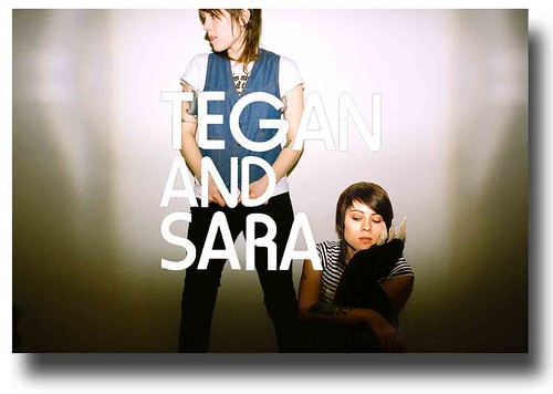 Tegan and Sara Poster – Wall Promo
