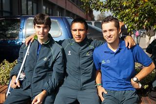 Concentración Movistar Team 2012